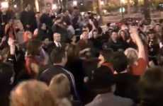 Commemorative Flash Mobs - Michael Jackson Fans Gather in SF to Dance the Night Away