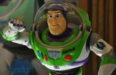 Real-Life Disney Bots - Buzz Lightyear Takes Children's Toys to Infinity and Beyond
