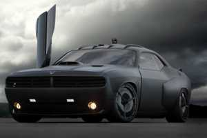 The Dodge Challenger 'Vapor' Has an Air Force Feel