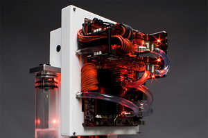 The Edelweiss PC Uses a Water Cooling System