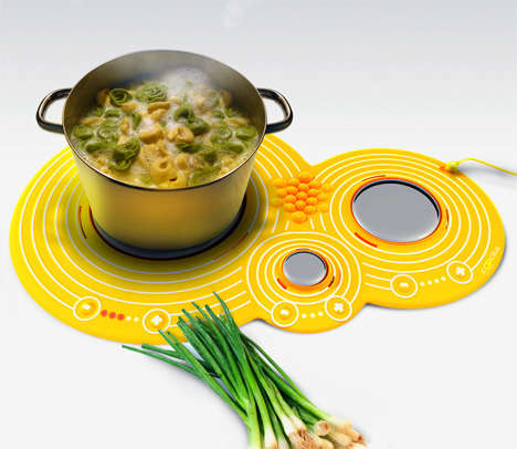 Placemat Stoves - The 'Cooka' Resembles a Table Mat