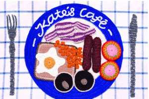 Kate's Cafe Serves Up Knitted Food Creations