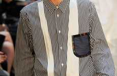Faux Neckwear - Comme Des Garcons Spring Line Affixes Ties to Shirts