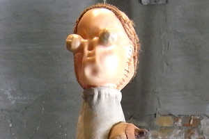 Raquel Paieonsky Creates Disfigured Toys for 'Mutant' Exhibit