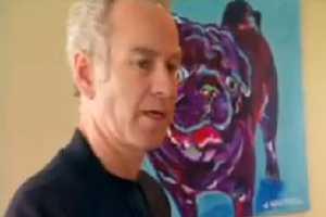 John McEnroe Teams Up With PETA on Neutering Issue