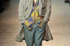 Bill Cosby Sweaters - Missoni Menswear Spring 2010 Features Patchwork Shirts
