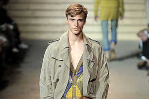 Missoni Menswear Spring 2010 Features Patchwork Shirts
