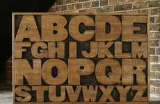 Wordy Furniture - Kent and London Create Sustainable Alphabet Drawers