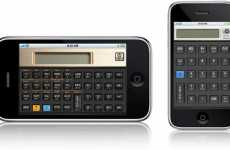 Vintage Calculator Apps - iPhone Gets Old School With Hewlett Packard