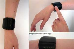 The Energy Bracelet Uses Thermoelectric Energy for Mobile Juice