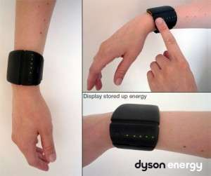 Wrist-Worn Chargers - The Energy Bracelet Uses Thermoelectric Energy for Mobile Juice