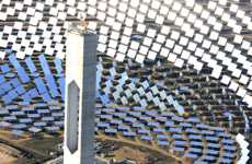 Solar Power Towers - Abengoa's PS20 Sun-Driven Steam Turbine Electrifies Europe