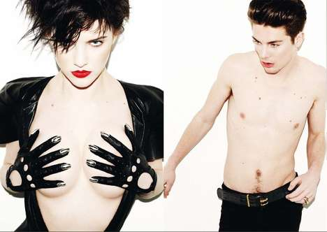 Punk Accessories Lookbooks - Matt Irwin Shoots Edgy Dominic Jones Jewelry