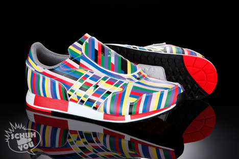 4th of July Footwear - Adidas Micropacers Celebrate '60 Years of Soles and Stripes'