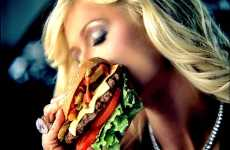 Junkfood Passion - Carl's Jr. 'Hot Chicks Eating Burgers' Contest Wants Your Juicy