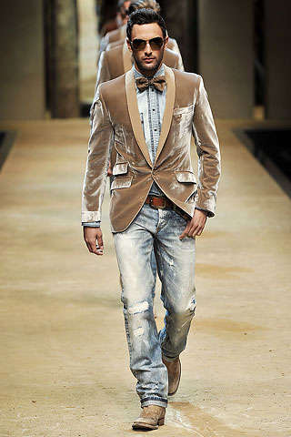 Bowties and Denim - 10 Different Neckwear Looks for Menswear in Spring 2010
