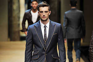 Tonal Trim Outlines Chic Menswear for Spring 2010