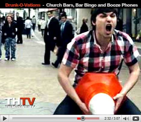 Drunkovation - Church Bars, Bar Bingo and Booze Phones