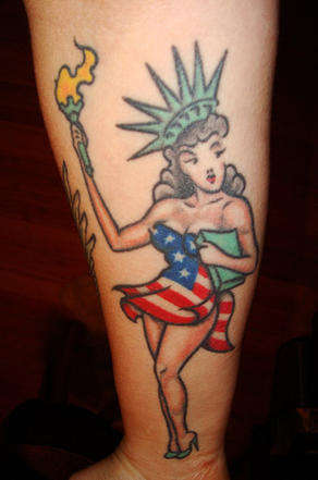 Patriotic Tattoos - Celebrate the 4th of July by Showing Your Love for Your Country