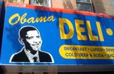 Presidential Cafes - The Patriotic Obama Deli Opens its Doors in Brooklyn, NY