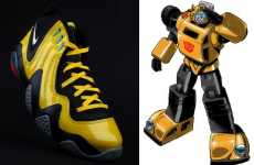 Nike Transformer Tie-in Shoes in Megatron, Bumblebee, Soundwave