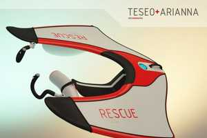 'Teseo & Airianna' Solar-Powered Beach Rescue System