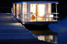 Sustainable Houseboats - MetroShip Revamps Living On Water With Prefab Boats