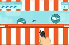 Twitter Video Games - DieFailWhale Lets You Shoot Errors, Carnival-Style