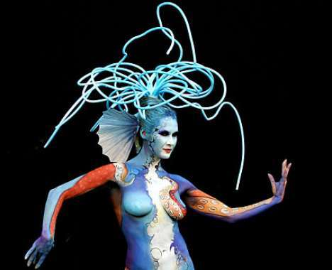 45 Beautiful Body Paint Features