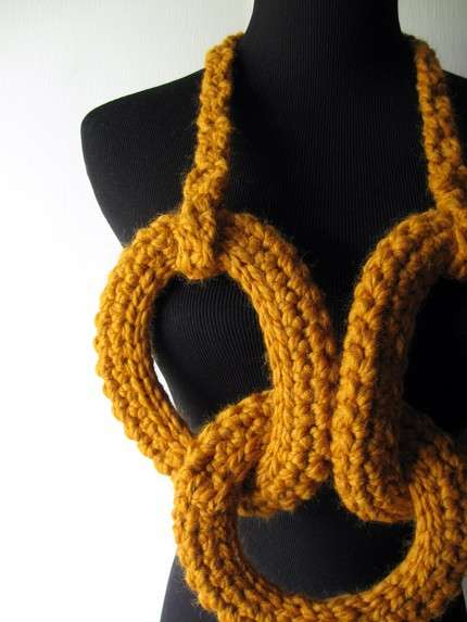 Knitted Necklaces