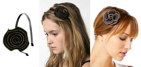 Zippered Hairbands