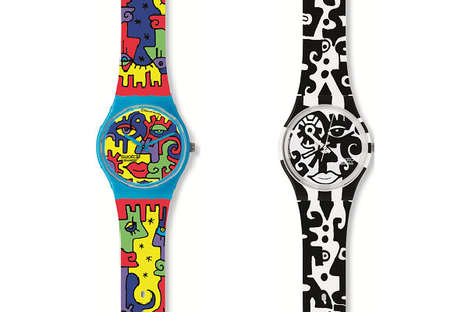 Modern Art Watches