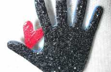 Sparkling Glove Creativity - Michael Jackson Tribute Art Honors His Iconic Glitter Glove