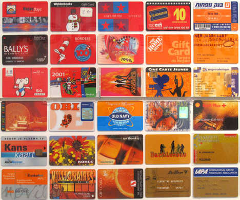 Credit Card Collages