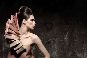 Lucia Giacani Shows Victorian-Inspired Neck Wear