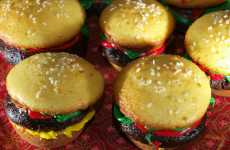 Cheeseburger Cupcakes - Make Your Favorite Dessert Into an Illusionary Dinner