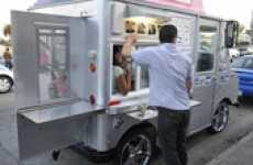 Mobile Restaurant Rows - Twittering Food Vendors Converge to Give LA Tasty Eats