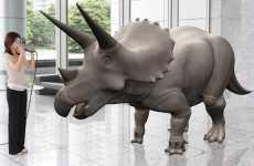 Virtual 3D Dino Exhibits