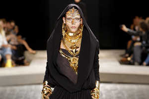 Ethnic Inspirations For Givenchy Fall 2009 Couture Collection