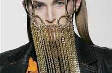 From Snake Vertebrae Jewelery to Jeweled Facemasks