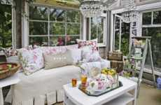 Glamorous Greenhouses - Heather Cameron's Flower Heaven