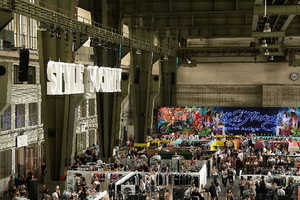 Bread&Butter Takes Over WWII Landmark for Fashion Fun