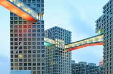 Skybridge Buildings - Steven Holl Architects' Mixed Used Complex Connects in Every Way