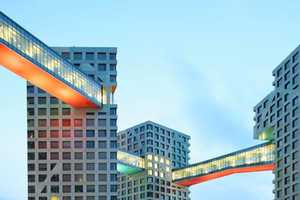 Steven Holl Architects' Mixed Used Complex Connects in Every Way