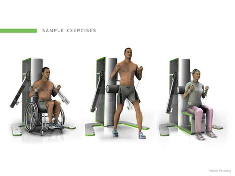 Disability-Friendly Gyms - 'The Access' Enables the Disabled to Exercise Easily