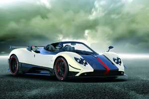 Pagoni Releases Only 5 Zonda Cinque Roadsters