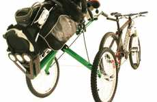 Two-Wheeled Caddies - Bicycle Golf Caddy Brings Green to the Green