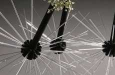 Futuristic Flower Vases