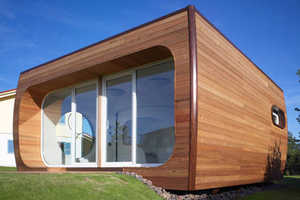 Hanse Colani's Rotor House Fits 4 Rooms Into 1
