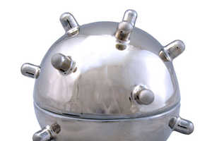 Studio Pirsc's Mina Egg Cup Looks Like a Grenade